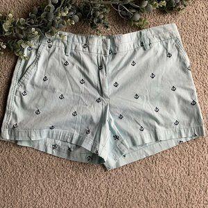 British Khaki Womens Sz 12 Casual Shorts Nautical